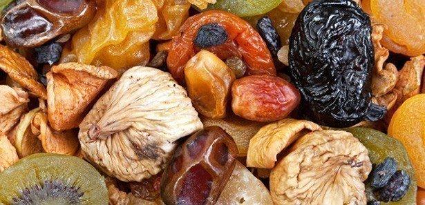 Kuru meyvelerin yararları