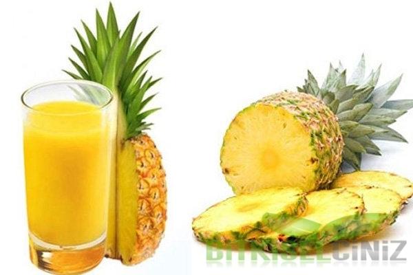 Öksürük Şurubu Yerine Ananas Suyu.